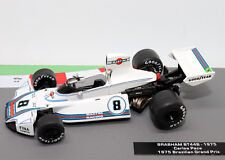 Formula 1 Car Collection Brabham BT44B 1975 Carlos Pace 1:43 F1 Model New