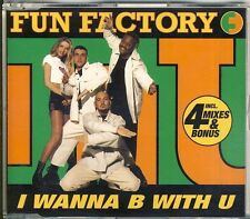 FUN FACTORY - i wanna be with u  5 trk MAXI CD 1995