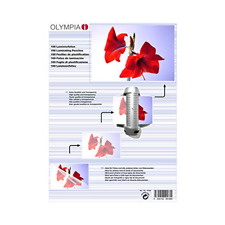 Olympia 9166 DIN A4, 80 Micron, Laminierfolie - Transparent, 100er Pack
