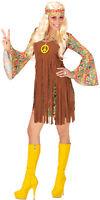 fetziges Hippie Chica Disfraz para mujer NUEVO - MUJER CARNAVAL Revestimiento