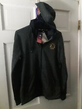 Boston Bruins B's Hockey Adidas Full-zip Hooded Jacket Shirt NHL NEW - Women's M