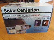 Outdoor Light Solar Centurion Security Outdoor Motion Halogen Light MINT IN BOX