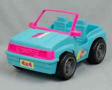 Barbie doll Beach Jeep Cruiser Turquoise / Pink Car dune Buggy Barbie toy car