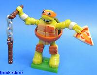 Mega Bloques nr.02 / Tortugas Ninjas Mutantes SERIE 1 / Figura michelangelos