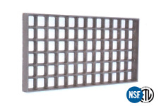 AMERICAN RANGE A17003  Waffle Grate Replacement Part Cast Iron 8x15