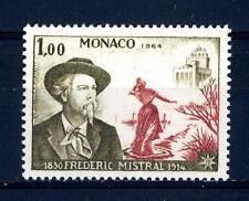 MONACO - 1964 - Cinquantenario della morte del poeta Federico Mistral 1830-1914