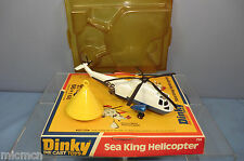 DINKY TOYS MODEL No.724  SEA KING HELICOPTER WITH 'APOLLO' SPACE CAPSULE  MIB333