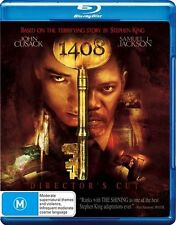 *Brand New & Sealed*  1408  (Director's Cut Blu-ray) Stephen King Horror Movie!