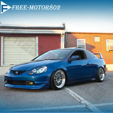 02 03 04 ACURA RSX DC5 MUGEN STYLE POLY URETHANE PU FRONT BUMPER LIP SPOILER