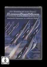 DVD AIR SHOWS OF THE WORLD - AEROBATICS - FLUGSHOW - FLUGZEUGE *** NEU ***