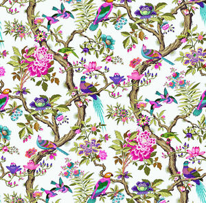 Dolls House Wallpaper 1/12th 1/24th scale Birds Quality Paper #04