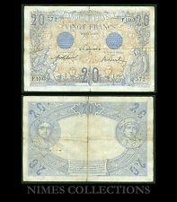 FRANCE 20 FRANCS BLEU du 31 janvier 1912 ETAT: TB  # F1103