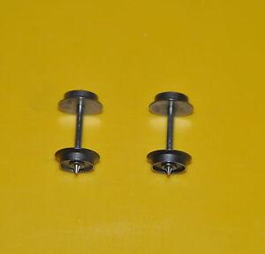 MÄRKLIN 1 Paar  Radsatz 320551 Durchmesser 9,5 mm , Achse 24,5 mm  #NEU #