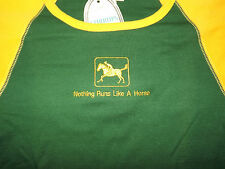 "Nwt STIRRUPS Youth MEDIUM L/S TEE ""Nothing Runs like a Horse """