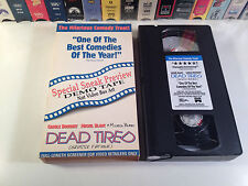 Dead Tired Promo Screener French Comedy VHS 1994 HTF Michel Blanc Carole Bouquet