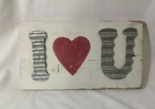 ~~PRIMITIVE VALENTINE BLOCK SIGN~~BE MY VALENTINE~~HEART~~LOVE~~