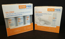 ACNE FREE 24 HR Clearing System & Deep Cleaning Duo Exp 11/20 & 1/21