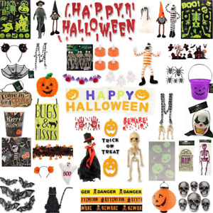 FabFinds Halloween Decoration Window Sticker Cling Spooky Hanging Party Decor UK