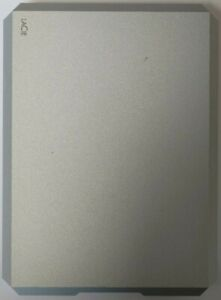 Seagate Lacie External Hard Drive 5TB USB-C Portable HDD Hard Disk Silver