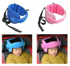 Adjustable Car Seat Head Support Pillow Neck Protector Headrest for Kids Safety