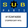 41324FA000 Subaru Stopper diff mtg 41324FA000, New Genuine OEM Part