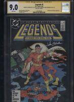 Legends #5 CGC 9.0 3x SS Len Wein & John Ostrander & Karl Kesel 1987