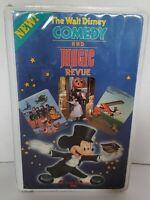 The Walt Disney Comedy And Magic Revue Rare & Walt Disney Home Video VHS Tape