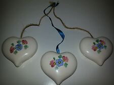 Lasting Products Inc. Hand Painted Hanging Hearts