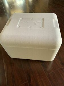 STYROFOAM BOX + Gel Ice Pack FOR VORTEIL3 LIVESTOCK  AUCTIONS ONLY