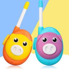 Kids Gifts Frs Walkie Talkie Cute Pig Cartoon Style Retevis 1Ch 2-Way Radio