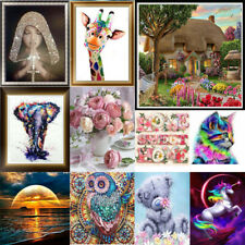 UK Animal DIY 5D Diamond Painting Embroidery Cross Craft Stitch Art Home Decor