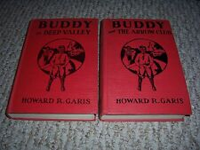 Buddy and The Arrow Club Bow / Buddy In Deep Valley on Farm Howard R Garis hc