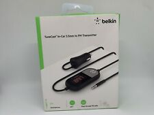 Belkin 1-port USB-A TuneCast In-Car 3.5mm Aux Audio to FM Transmitter - Tested