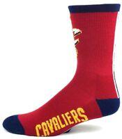 Cleveland Cavaliers NBA Basketball Red Blue Crew Socks