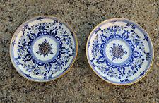 MINTON : ancienne paire de coupelles, superbe décor à l'or - 19ème