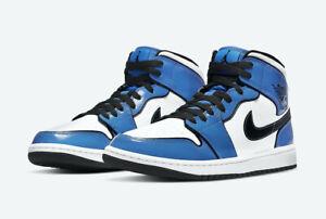 Nike Air Jordan 1 Mid SE Signal Blue DD6834-402 Size 4-13