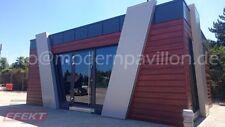 Bürocontainer 7,0m x 5,0m, Verkaufspavillon Efektpavillon, Imbiscontainer,