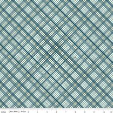 NEW - Riley Blake - Offshore Plaid - Blue