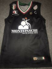 Mens Sana (Italy) Basketball Shirt Small Champion Rare