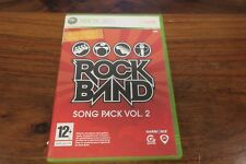 ROCK BAND  SONG PACK VOL. 2       -----  pour XBOX 360