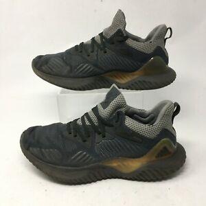 Adidas Alphabounce Beyond Running Sneakers Mens 10.5 Low Top Mesh Grey CG4762