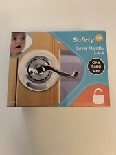 Safety 1st Lever Handle Lock One Hand Use New 48400 White