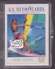 (500) 1992 US OLYMPIC HOPEFULS JAYNE FENNER CARDS #59 ~ GIANT LOT ~ SAILBOARDING