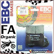 PASTIGLIE FRENO ANTERIORE EBC ORGANIC FA658 KEEWAY RKV 200 S 2014