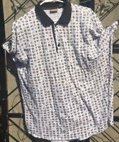 Men's Axist Shirt Golf Polo Business Casual or Shirt X Large Cotton