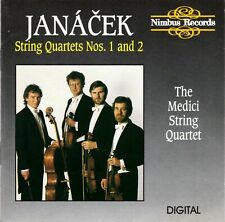 Janacek: String Quartets 1 & 2 [The Medici String Quartet] (CD, 1988, Nimbus)