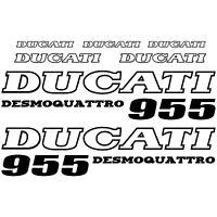 MAXI KIT DUCATI DESMOQUATTRO 955 Stickers Autocollants Adhésifs Moto Qualité
