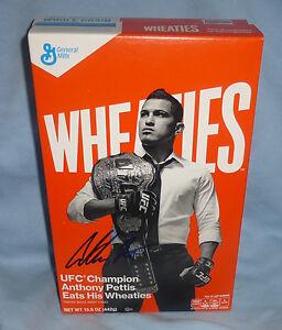 Anthony Pettis Signed Full Wheaties Box PSA/DNA COA UFC 2015 Autograph 164 181