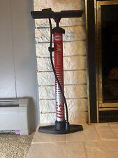 Bell Sports 100 PSI Steel Bike Pump Red  Great Pump!