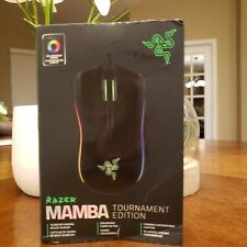 Razer Mamba Tournament Edition Chroma Ergonomic Gaming Mouse RZ01-01370100- R3U1